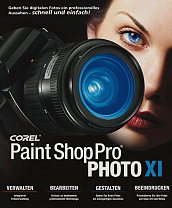 COREL Paint Shop Pro Photo XI für 20 Euro